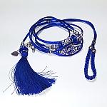 רצועות תערוכה - כחול