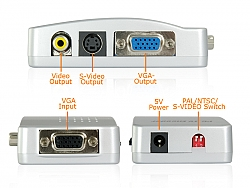 ממיר VGA ל RCA