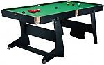 שולחן ביליארד מתקפל 4 פיט איכותי מבית RILEY