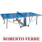 שולחן טניס חוץ Roberto Ferre עם פלטות אלומיניום דגם Outdoor 1000