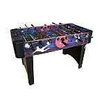 שולחן כדורגל 5 פיט מוטות מלאים איכותי דגם XL AGRESSOR