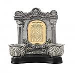 שער וילנה עם ירושלים ופמוטים ברכת הדלקת נרות