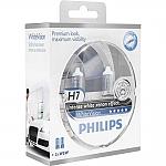 זוג נורות פיליפס H7 White Vision