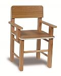כיסא בוק עם ידיות