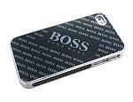 מגן Boss לאייפון 4 - שחור