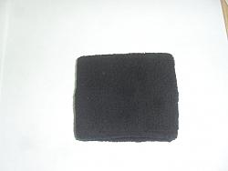 כיסוי שעון מגבת שחור