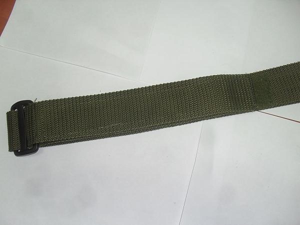 חגורות סקוטש שחור/ירוק/כחול - 1