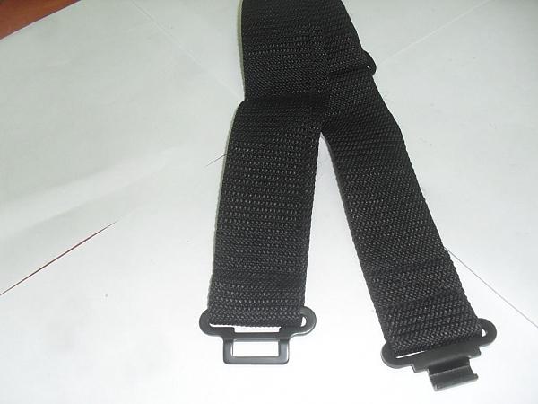חגורות ש.כ. שחור/ירוק/כחול - 2