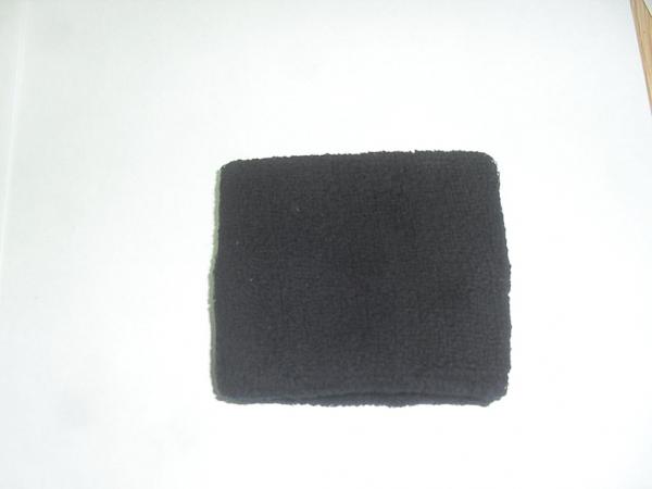 כיסוי שעון מגבת שחור - 1