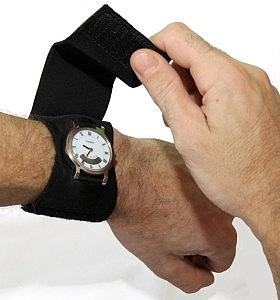 כיסוי שעון סיליקון שחור - 1