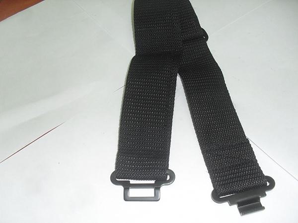 חגורות ש.כ. שחור/ירוק/כחול - 1