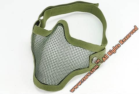 A.C.M. strike steel lower face mesh mask - 2