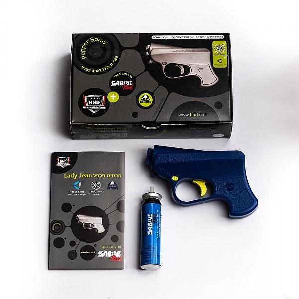 אקדח גז פלפל -  PIKO - 1