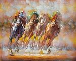 מרוץ הסוסים רקע חום