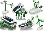 רובוטים סולארים לבנייה עצמית - להיט חדש לזמן איכות ילד הורה