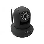 מצלמת אבטחה IP אלחוטית ממונעת עם ראיית לילה Foscam FI8910W - צבע שחור