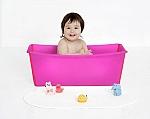 אמבטיה מתקפלת לתינוק מפלסטיק גמיש | Flexi bath