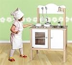 מטבח מפואר עץ טבעי + כלים