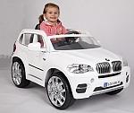 מכונית ממונעת 12V לילדים BMW X5 דגם 2015 עם שלט