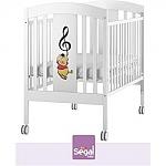 מיטת תינוק דיסני פו מוזיקאלי רהיטי סגל