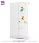 ארון לחדר תינוק  2 דלתות ספרינג דיסני רהיטי סגל