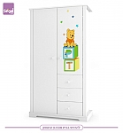 ארון לחדר תינוק  2 דלתות/ 3 דלתות Ready to Play דיסני רהיטי סגל