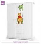 ארון לחדר תינוק  2 דלתות/ 3 דלתות Pooh and Ru דיסני רהיטי סגל