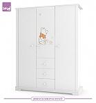 ארון לחדר תינוק  2 דלתות/ 3 דלתות Just Pooh דיסני רהיטי סגל