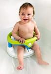 מושב אמבטיה נפתח עם כריות ואקום Kidskit