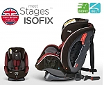 כסא בטיחות ובוסטר Stages ISOFIX  Joie