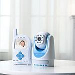 אינטרקום לתינוק דיגיטאלי עם מצלמה ונגן שירים TimeFlys