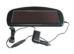 מטען סולארי למצבר הרכב