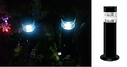 עמוד תאורה סולארי