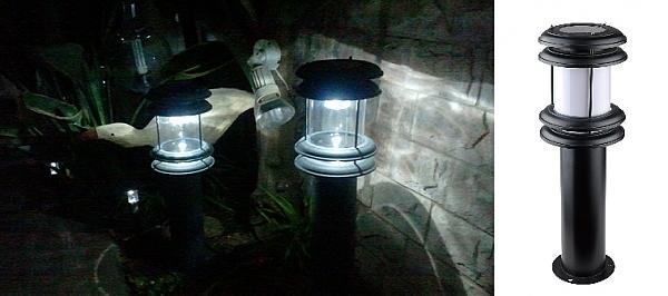 עמוד תאורה סולארי - 1