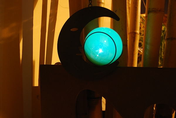 מנורת ירח סולארי לתלייה - 1