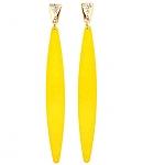 עגילי טורנדו צהוב