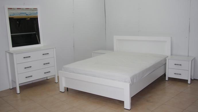 מגניב ביותר חדר שינה לבן דגם סיגל | Yalla.co.il VV-53
