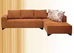 מערכת ישיבה סלון \ פינתי מדמוי עור דגם אנאבל