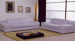סלון - מערכת ישיבה 3+2 דגם פרסרי דמוי עור