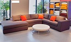 מערכת ישיבה סלון \ פינתי מבד דגם דאלאס