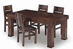 שולחן פינת אוכל + 6 כיסאות דגם ברדלס