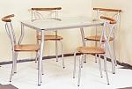 שולחן מטבח דגם לידור