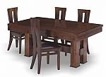 שולחן פינת אוכל + 6 כיסאות דגם דפנה