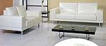 סלון - מערכת ישיבה סלון 3+2 מנטור דמוי עור