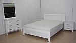 חדר שינה לבן דגם סיגל