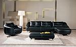 מערכת ישיבה סלון  פינתי מדמוי עור דגם לינדה
