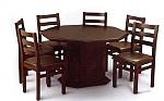 שולחן פינת אוכל + 6 כיסאות xl דגם ג'מבו