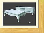 מזנון + שולחן אפוקסי דגם M502