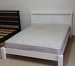 מיטה מעץ מלא דגם חן