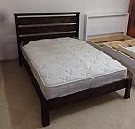 מיטה מעץ מלא דגם נדב